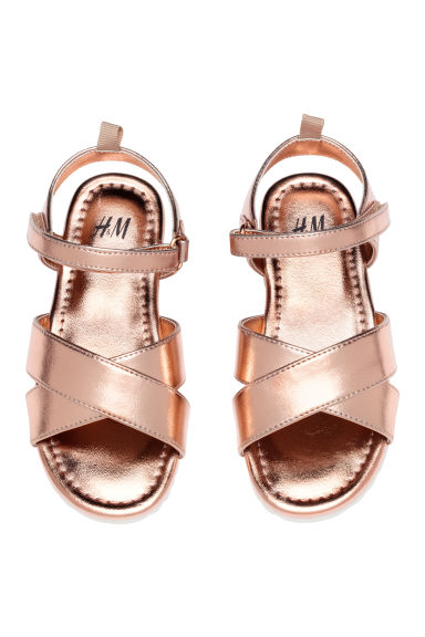 Sandals - Rose gold - Kids | H&M CN