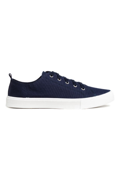 Canvas trainers - Dark blue -  | H&M