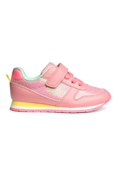 Baskets scintillantes - Rose - ENFANT | H&M FR
