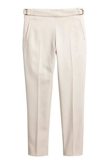 Suit trousers - Light beige -  | H&M