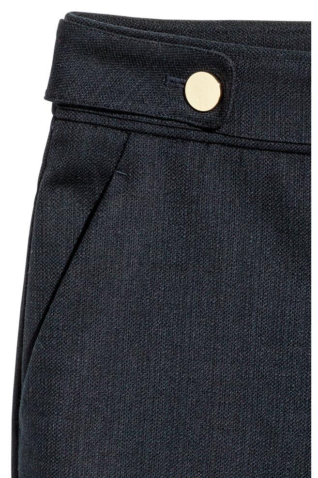 ff69842f7e ... 2 Pantalón corto de vestir - Azul oscuro - MUJER