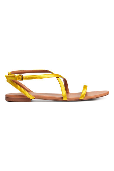 Sandals - Yellow - Ladies | H&M CN