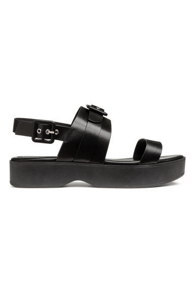 Plateausandalen - Zwart - DAMES | H&M BE