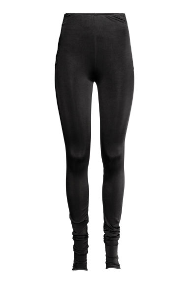 Leggings in nylon - Nero -  | H&M CH