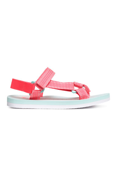 Sandals - Coral pink -  | H&M