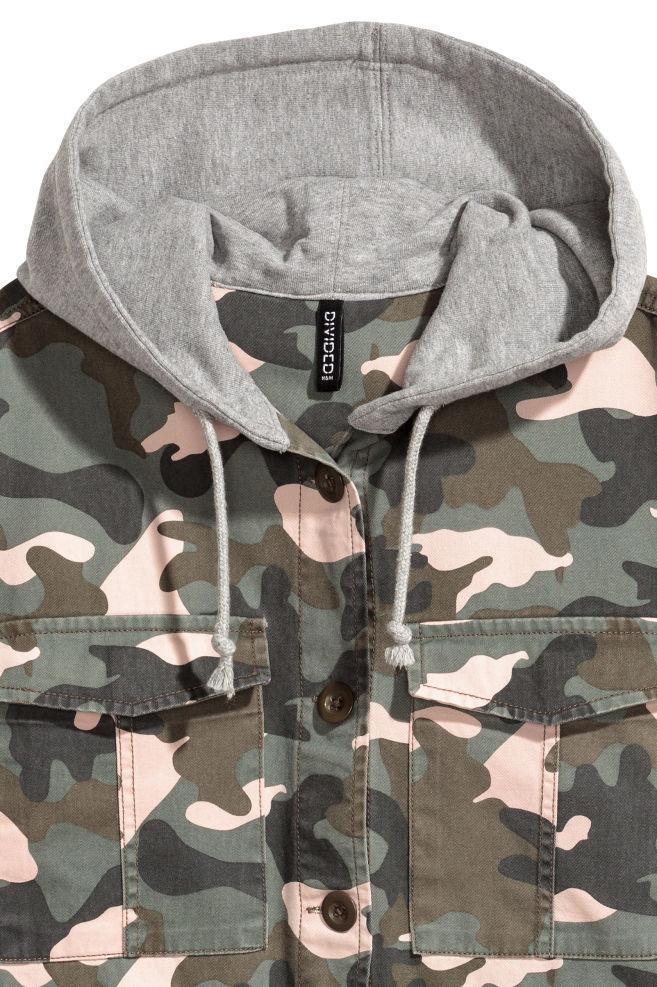 6ccb676206bb4 ... Jacket - Khaki green/Pattern - Ladies | H&M ...