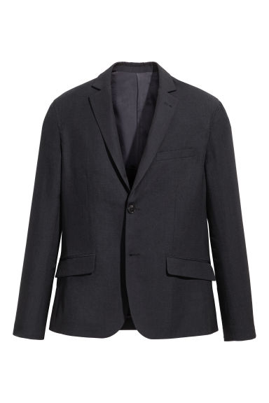 Wool-blend jacket - Black - Men | H&M