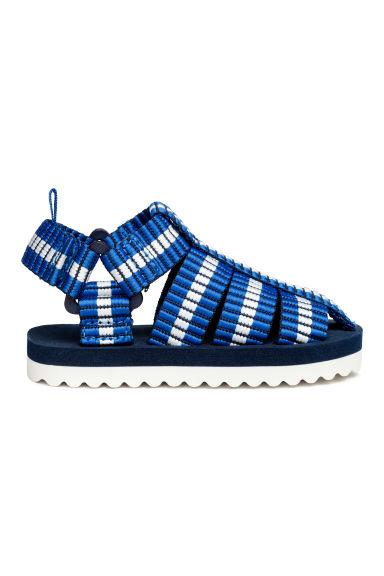 Sandals - Bright blue -  | H&M