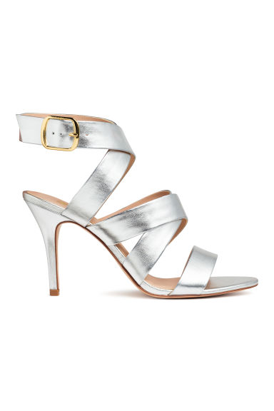 Sandals - Silver - Ladies | H&M CN