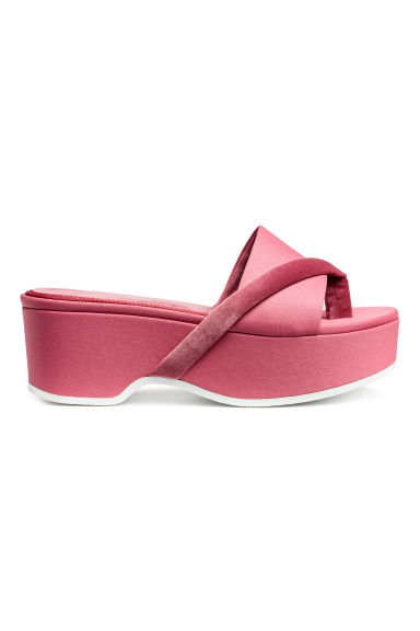 Plateauslippers - Roze - DAMES | H&M NL