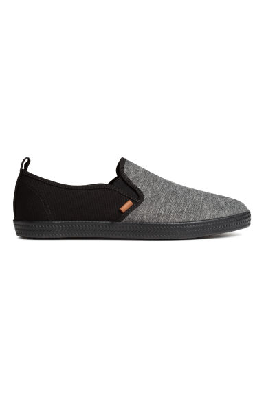 Sneakers slip-on - Nero mélange - UOMO | H&M IT