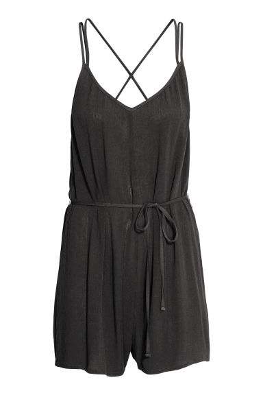 Playsuit - Zwart -  | H&M BE
