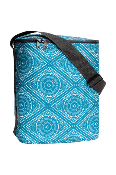 Patterned cool bag - Turquoise -  | H&M CN