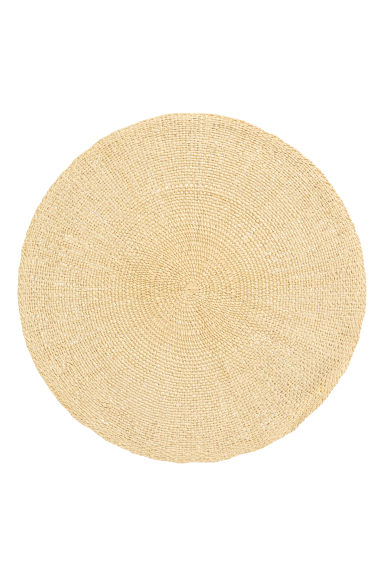 Paper straw table mat - Natural - Home All | H&M GB