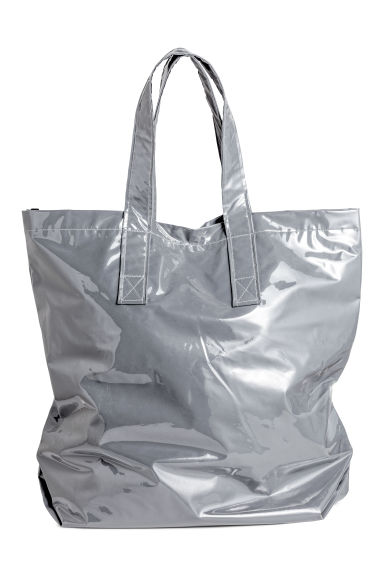 Reflective shopper - Light grey -  | H&M
