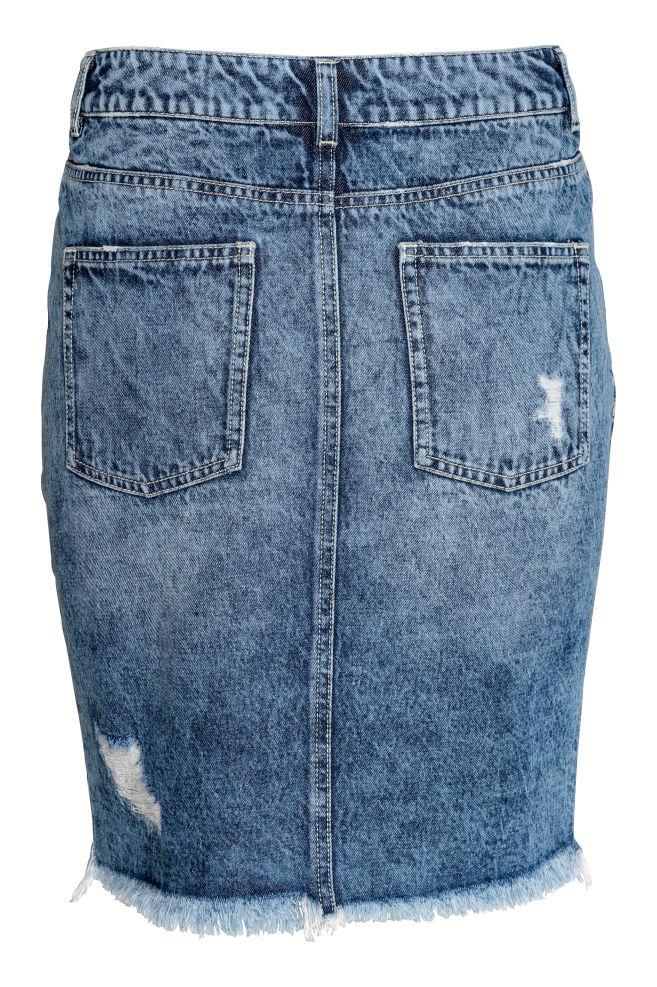 3330116a35 ... Džínová sukně - Denim blue -