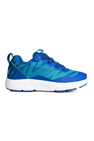 Mesh trainers - Cornflower blue - Kids | H&M CN