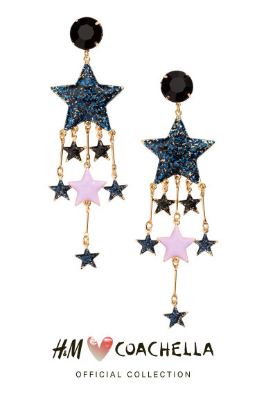 Large earrings - Gold/Stars - Ladies | H&M CA