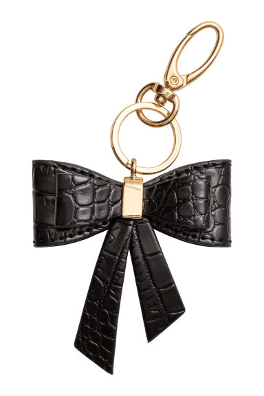 Keyring - Black/Bow - Ladies | H&M IE