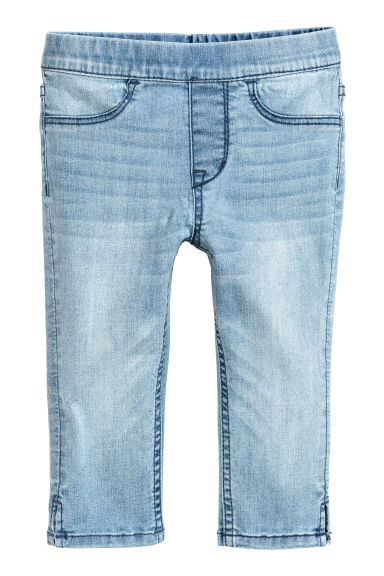 Driekwart jeanslegging - Licht denimblauw -  | H&M BE