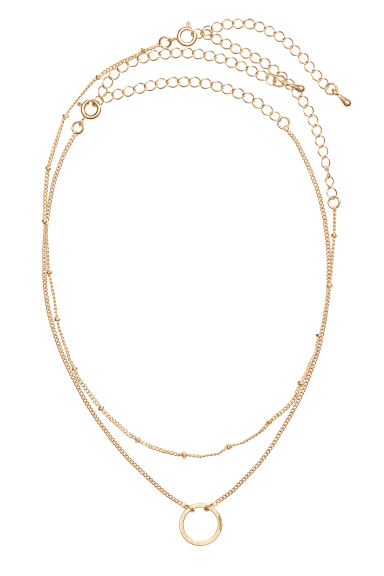 2-pack necklaces - Gold -  | H&M GB