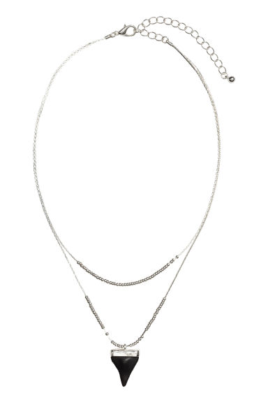 Necklace with a pendant - Silver - Ladies | H&M CN