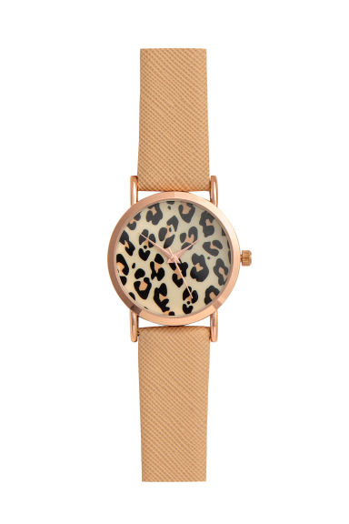 Watch - Leopard print - Ladies | H&M IE