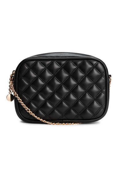 Quilted shouder bag - Black -  | H&M