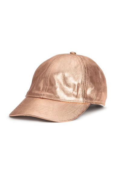 Coated cotton cap - Rose - Ladies | H&M