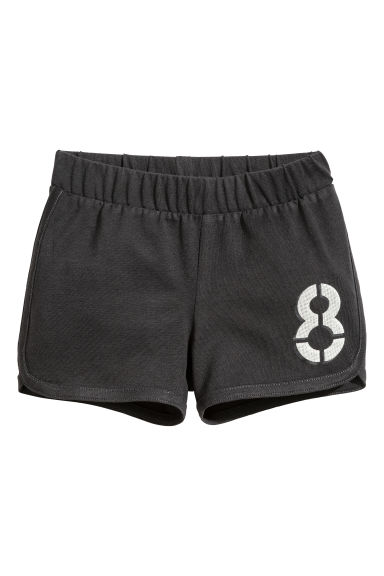 Jersey shorts - Dark grey - Kids | H&M CN