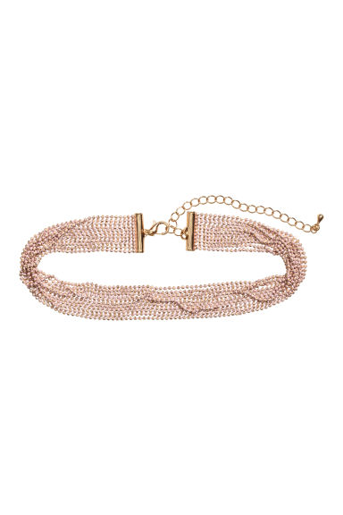 Choker - Powder pink - Ladies | H&M GB
