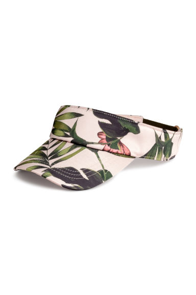 遮陽帽 - Powder/Palm leaf - Ladies | H&M
