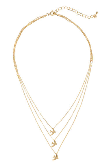 Necklace with pendants - Gold -  | H&M CN