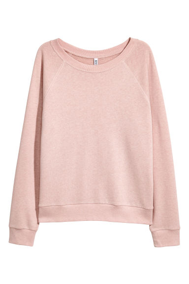 Sweatshirt - Powder pink -  | H&M