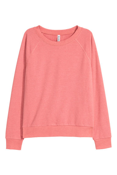 Sweatshirt - Powder marl - Ladies | H&M
