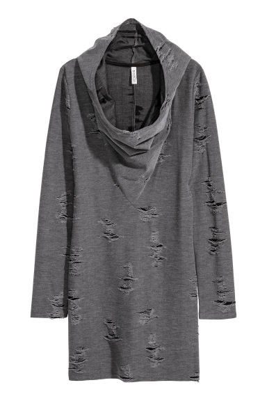 Knitted dress - Dark grey - Ladies | H&M IE