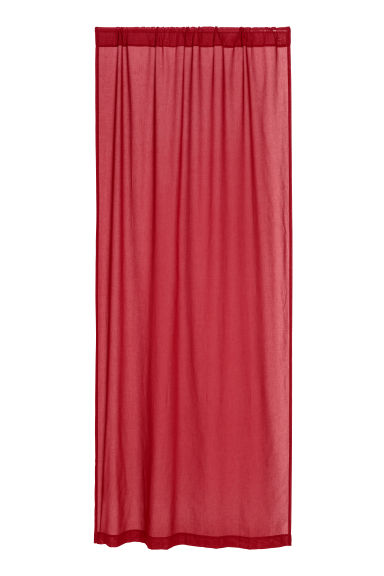 2-pack curtain lengths - Dark red -  | H&M GB