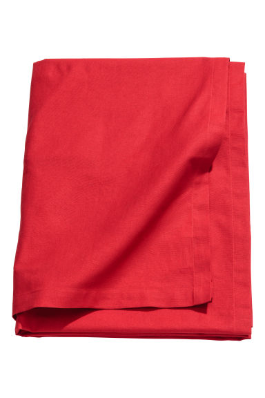 Cotton tablecloth - Red -  | H&M IE