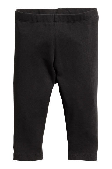 Jersey leggings - Black -  | H&M CN