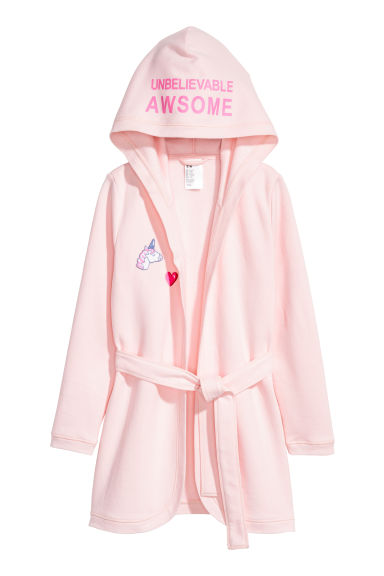 Dressing gown - Light pink - Kids | H&M CN