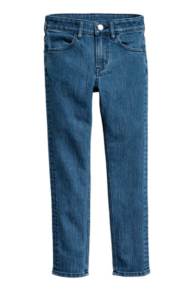 Skinny Fit Jeans - Denim blue - Kids | H&M GB