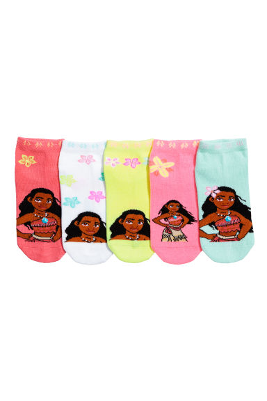 5-pack trainer socks - Coral/Moana -  | H&M GB