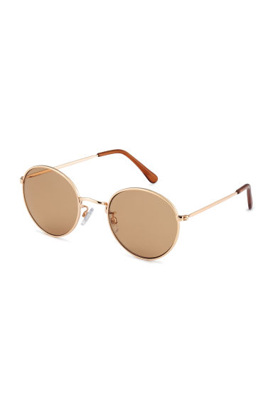 Sunglasses - Brown/gold-colored - Ladies | H&M US