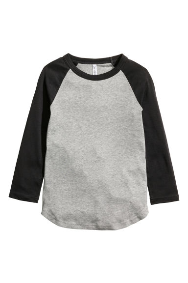 棒球衫 - Grey/Black - Ladies | H&M