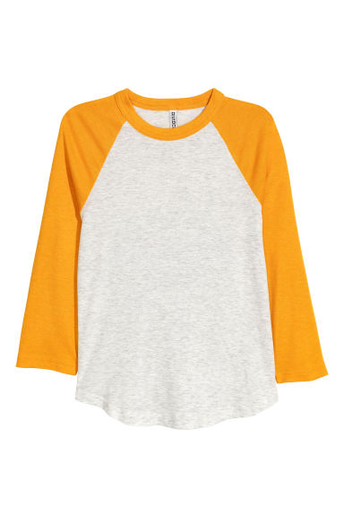 Baseball shirt - Yellow - Ladies | H&M CN