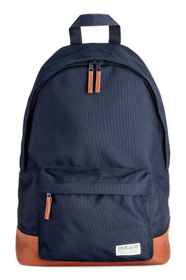 Backpack - Dark blue/Camel -  | H&M IE