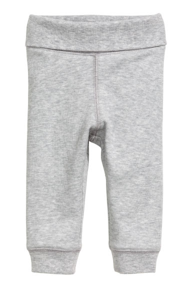 Jersey trousers - Grey -  | H&M
