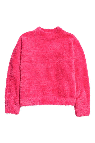 Knitted jumper - Raspberry pink - Kids | H&M