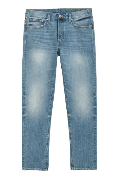Straight Jeans - Blue washed out - Men | H&M IE