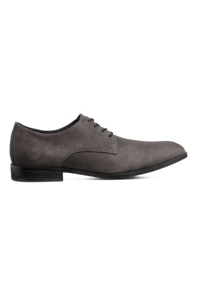 Derby shoes - Dark grey - Men | H&M